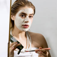 Mega-Mushroom Relief and Resilience Face Mask