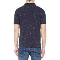 Polka Dot Polo Shirt