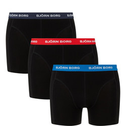 Three-Pack Basic Boxer Shorts