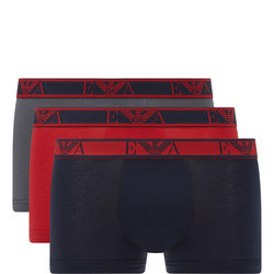 Three-Pack Eagle Boxer Trunks