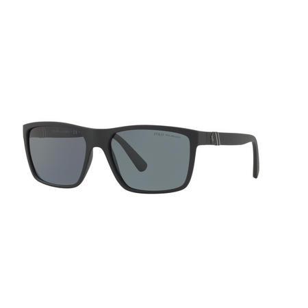 Polarised Rectangle Sunglasses PH4133