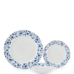 Blue Bramble 12pc Porcelain Dinner Set