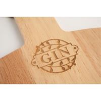 Large Gin Bar Board in Hevea