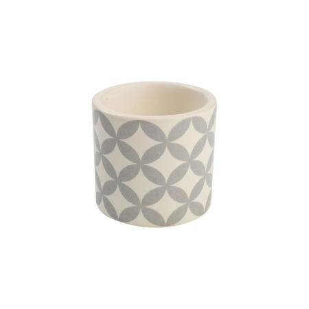 City Egg Cup Circle Pattern