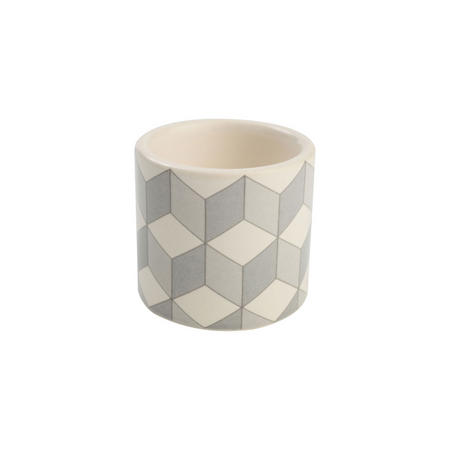 City Egg Cup Cube Pattern