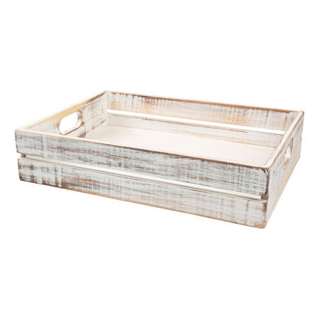 Drift Large Crate in White