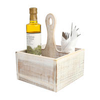Drift Table Tidy in White