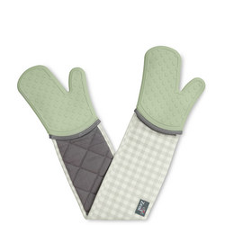 Double Oven Glove Gingham