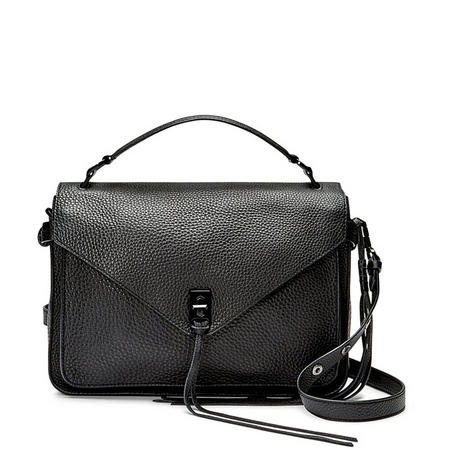 Darren Messenger Satchel Bag Black