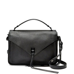 Darren Messenger Satchel Bag Black