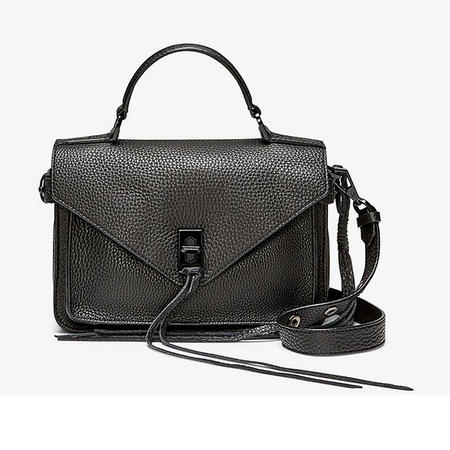 Darren Small Messenger Bag Black