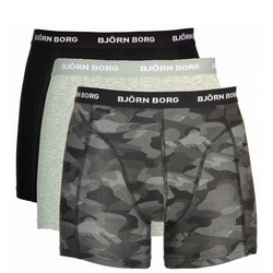 Three-Pack Logo Camouflage Boxers