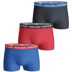 Three-Pack Logo Boxers