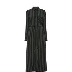Florenta Stripe Shirt Dress