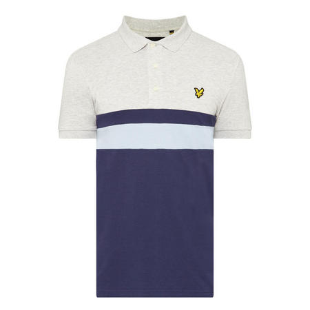 Stripe Detail Polo Shirt