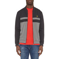 Yoke Stripe Bomber Jacket