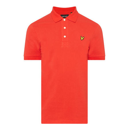 Logo Short Sleeve Polo Shirt