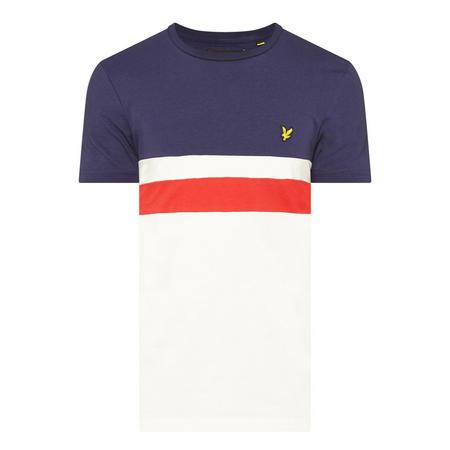 Yoke Stripe T-Shirt