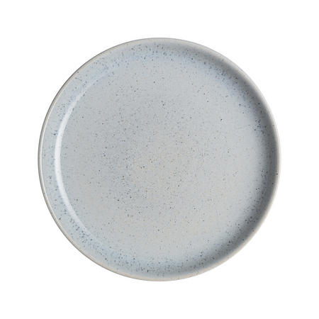 Studio Blue Pebble Coupe Dinner Plate