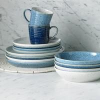 Studio Blue Cobalt Coupe Dinner Plate