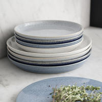 Studio Blue Chalk Medium Coupe Plate