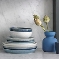Studio Blue Flint Medium Coupe Plate