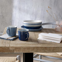 Studio Blue Chalk Pasta Bowl