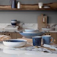 Studio Blue 4 Piece Cereal Bowl Set