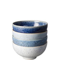 Studio Blue 4 Piece Rice Bowl Set