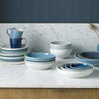 Studio Blue Cobalt Medium Ridged Bowl