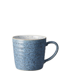 Studio Blue Flint/Chalk Ridged Mug