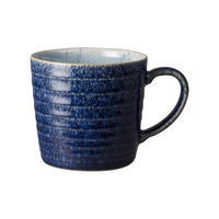 Studio Blue Cobalt/Pebble Ridged Mug