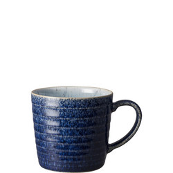 Studio Blue Cobalt/Pebble Ridged Mug
