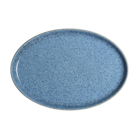 Studio Blue Flint Medium Oval Tray