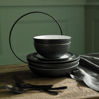 Natural Charcoal Small Plate