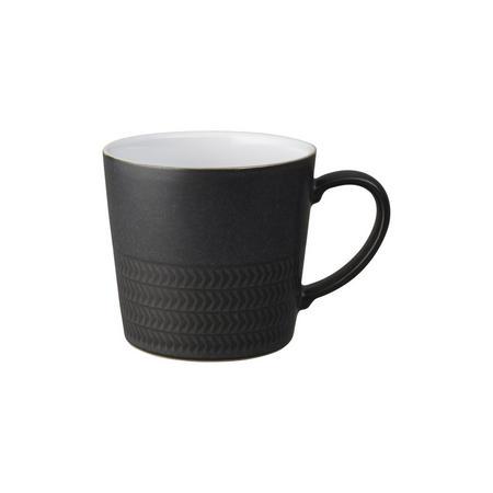 Natural Charcoal Textured Large Mug