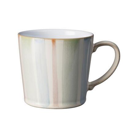 Stripe Painted Large Mug