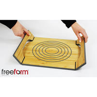 Hot Plate Silicone Bamboo