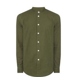 Liam BX Cotton Twill Shirt Green