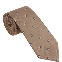 Square Dotted Pattern Tie