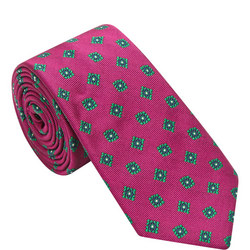 Flower Pattern Tie