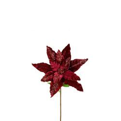 Luxury Velvet Poinsettia Floral