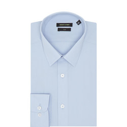 Slim Fit Solid Shirt
