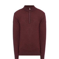 Zip-Notch Sweater