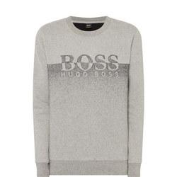 Two-Tone Logo Sweater