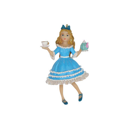 Resin Alice in Wonderland Decoration