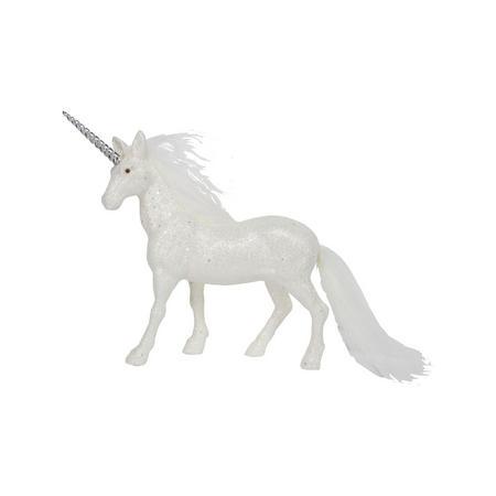 Glitter Fur Unicorn Ornament