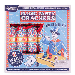Ridley's Magic Party Crackers Set Of Six