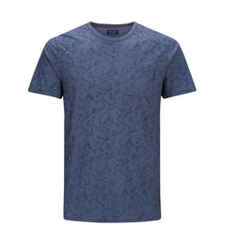 Terry Print T-Shirt