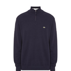 Stand Up Zip Collar Sweater